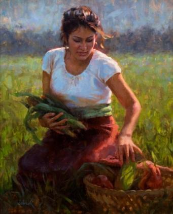 Dawn's Harvest, 30 x 24 in, NA