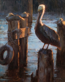 Evening Roost, 28 x 22 in, NA