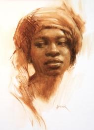 Lydia, 11 x 8 in, NA