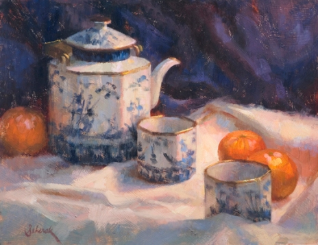 Tangerine Tea, 11 x 14 in, NA